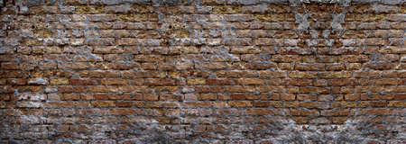 Grunge Hintergrund einer Mauer aus Ziegeln