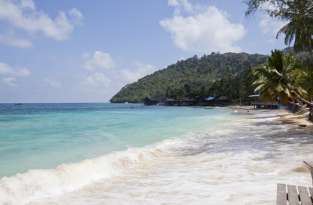 Salang Village Tioman Island, Malaysia