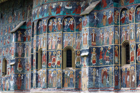 Sucevita,Voronet, Monastery, the famous painted monasterie in Romania