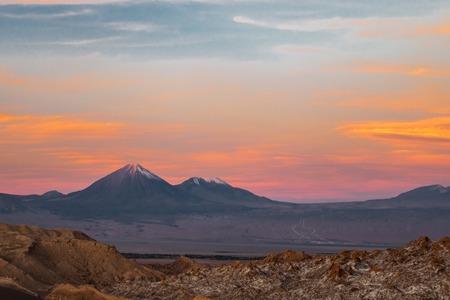 Valle de la Luna Moon Valley close to San Pedro de Atacama, Chile Imagens