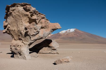 Arbol de Piedra, Salar de Uyuni, Bolivia