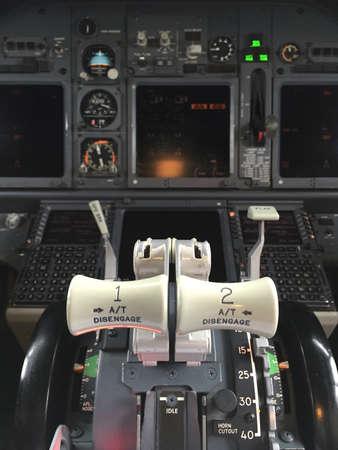 thrust: thrust lever