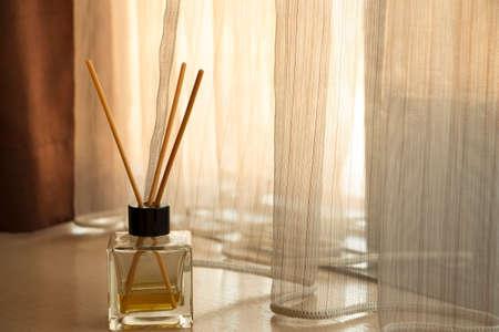 breath: Aroma diffuser Stock Photo