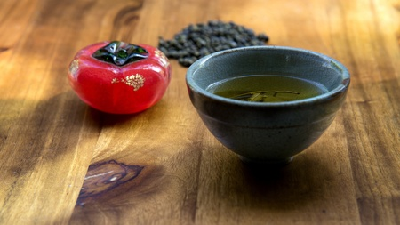 Arrangements of tea abstract photo