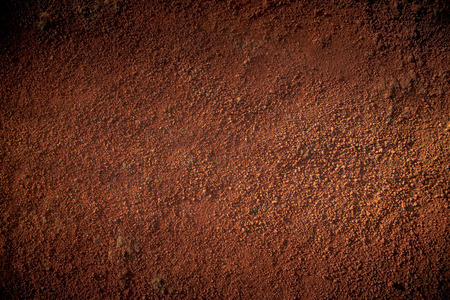 red soil: Image of red soil texture