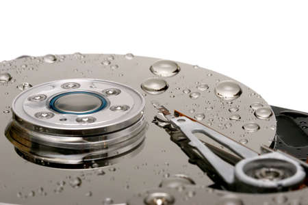 gigabyte: wet hard drive