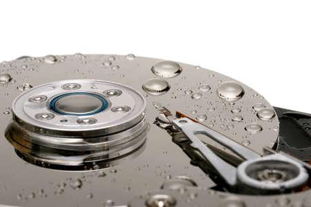 mb: wet hard drive
