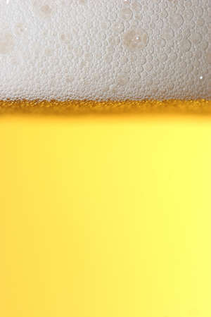 gastro: golden beer macro Stock Photo