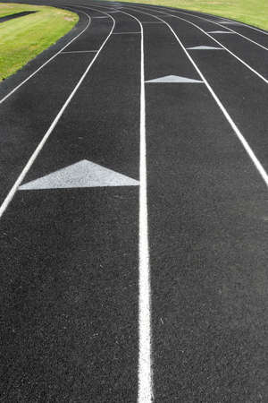 track and field abstract