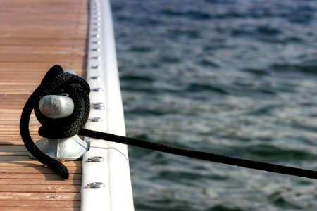 docked in the marina - photo taken in yellowstone naitonal park, wyoming photo