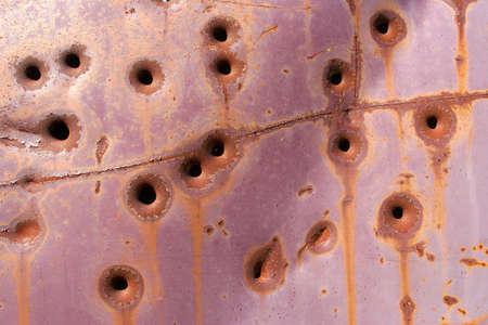 gunfire: bullet holes background