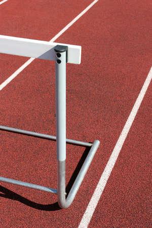 h�rde: Leichtathletik - H�rde Nahaufnahme