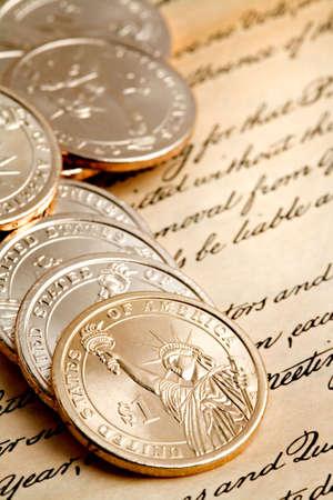 lady liberty: d�lar de monedas macro, limitado DOF, con especial atenci�n a dama frente a la libertad