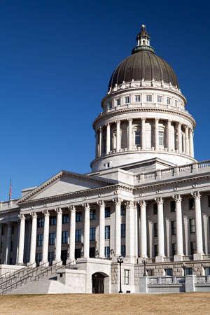 ut: Utah State Capitol Building in Salt Lake City, UT