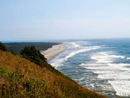 Scenic views of an Oregon coast road trip.