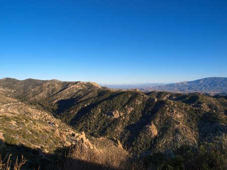 High desert in the Arizona mountains. Imagens