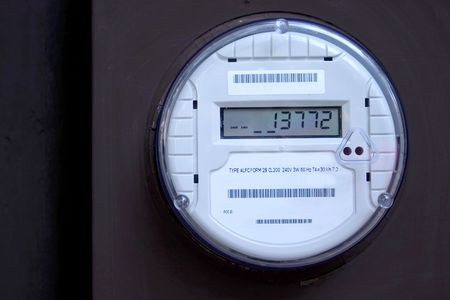 American Smart Meter with Numbers photo