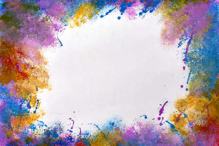 Color paint abstract background with place for text