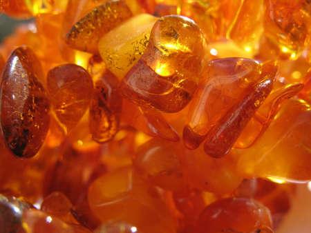amber beads Banco de Imagens
