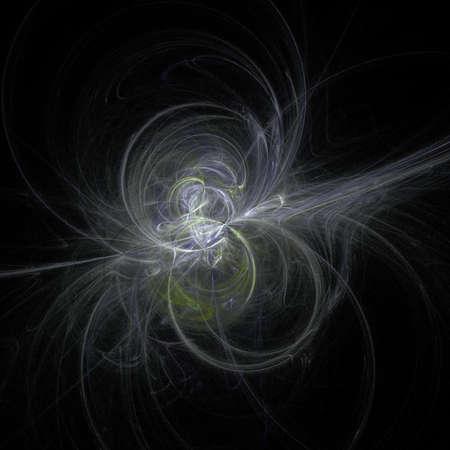 magnetismo: una priorit� bassa astratta fatta delle luci vivide chiare caotiche Archivio Fotografico