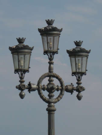 decore: a decorative street lantern