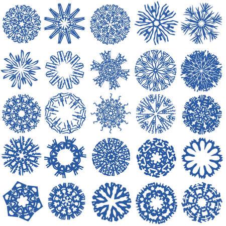 frieren: Eine Sammlung von Schneeflocken