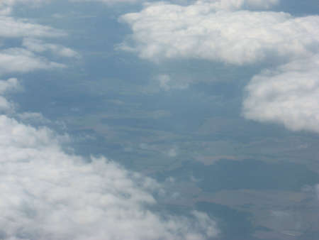 cumuli: the Earth from  the air