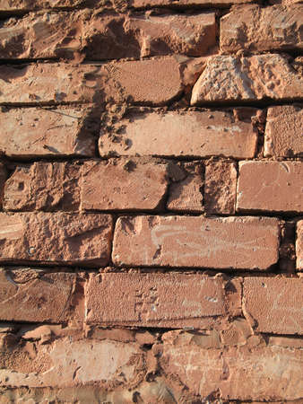 paredes de ladrillos: un ladrillo
