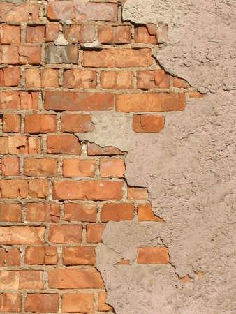 paredes de ladrillos: Un ladrillo  Foto de archivo