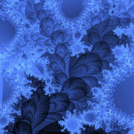 randomized: blue abstract background