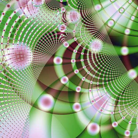 randomness: abstract design Stock Photo