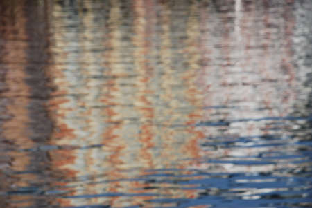 distortion: reflections in the water
