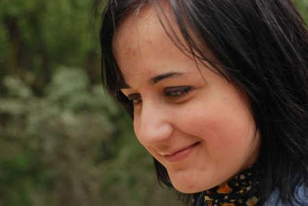 portrait of teenage girl Stock Photo - 5217224