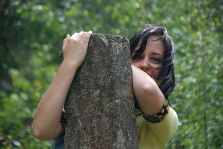 portrait of teenage girl Stock Photo - 5217229