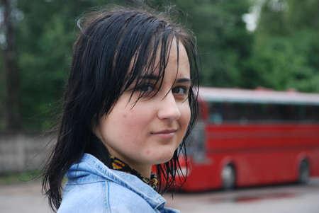 portrait of teenage girl Stock Photo - 5217225
