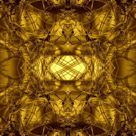 modest: golden abstract background