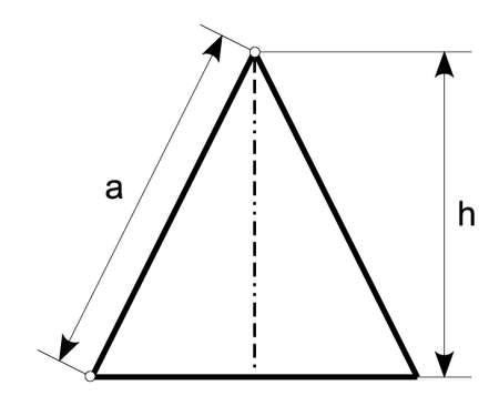 isosceles triangle Stock Vector - 5761313