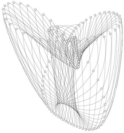compute: abstract design Illustration