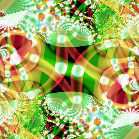 computer generated colorful abstract background Stock Photo - 6316836