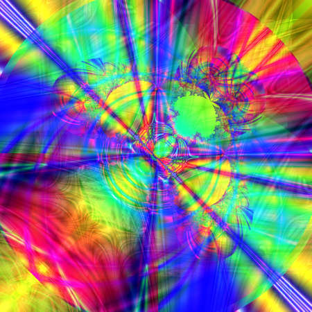 computer generated colorful abstract background Stock Photo - 6363139