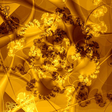 golden abstract background Stock Photo - 6468489