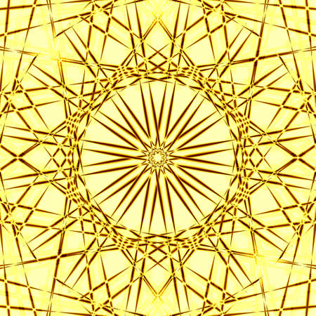 golden abstract background Stock Photo - 6468410