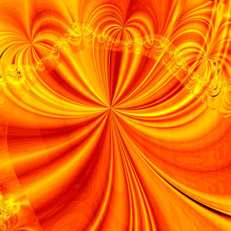 golden abstract background Stock Photo - 6468464