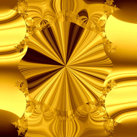 golden abstract background Stock Photo - 6468486