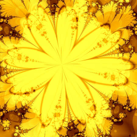 golden abstract background Stock Photo - 6468482