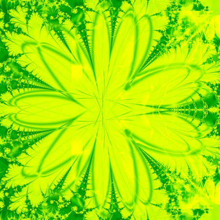 computer generated green abstract design photo