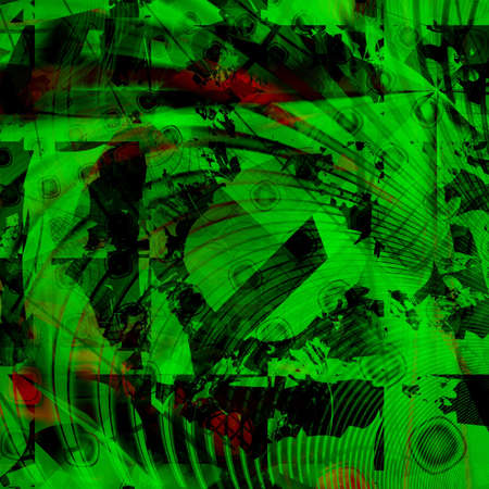 modest: computer generated colorful abstract background