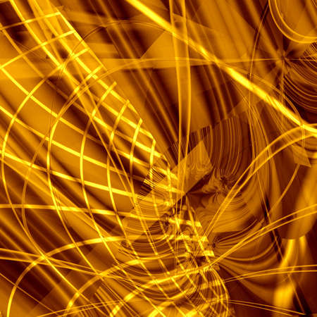 computer generated golden abstract background photo