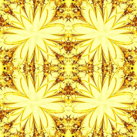 golden seamless wallpaper Stock Photo - 6748518