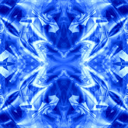 blue seamless abstract background Stock Photo - 6748797